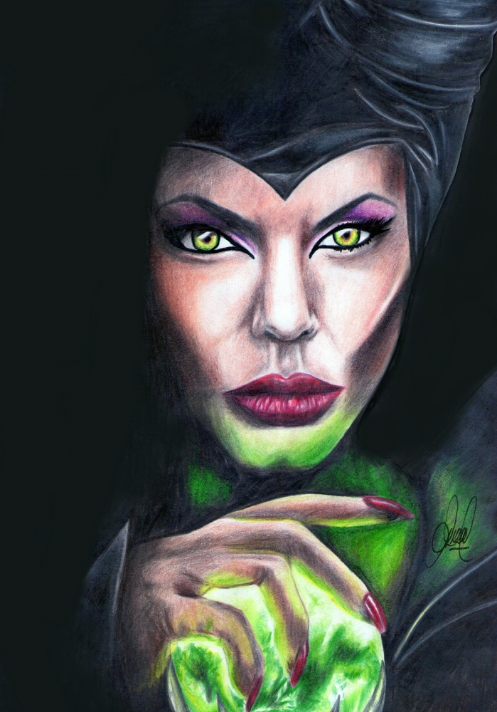Angelina Jolie by Diegoale